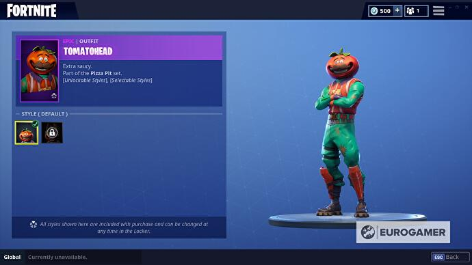 Fortnite Tomatohead Outfit How To Unlock The Second Crown Style