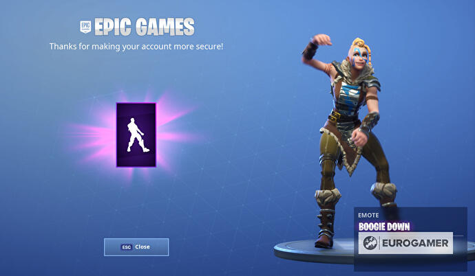 Get A Free Fortnite Dance When You Enable Two Factor Authentication
