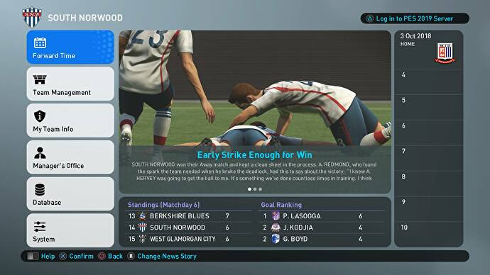 PES 2019 review - patience on the pitch, a shambles off it