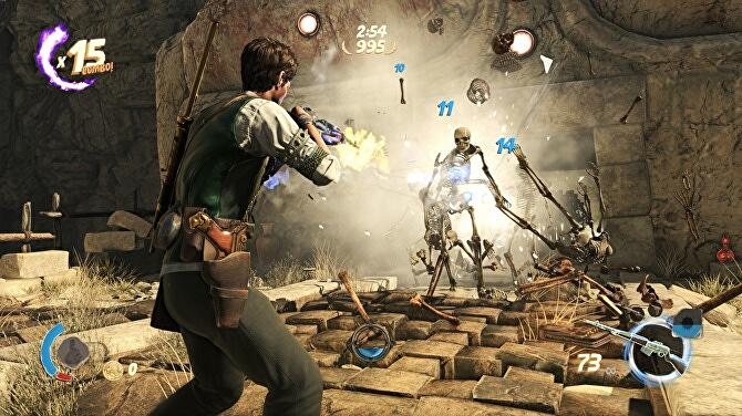 Strange Brigade review - brash team shooter that's just a
