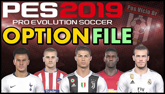 PES 2019 Patch - how to download option files, get licences, kits