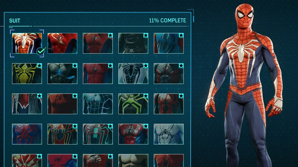 Spider Man Suit Unlock List And Costs How To Get Every Spider Man Suit And Suit Power Eurogamer Net