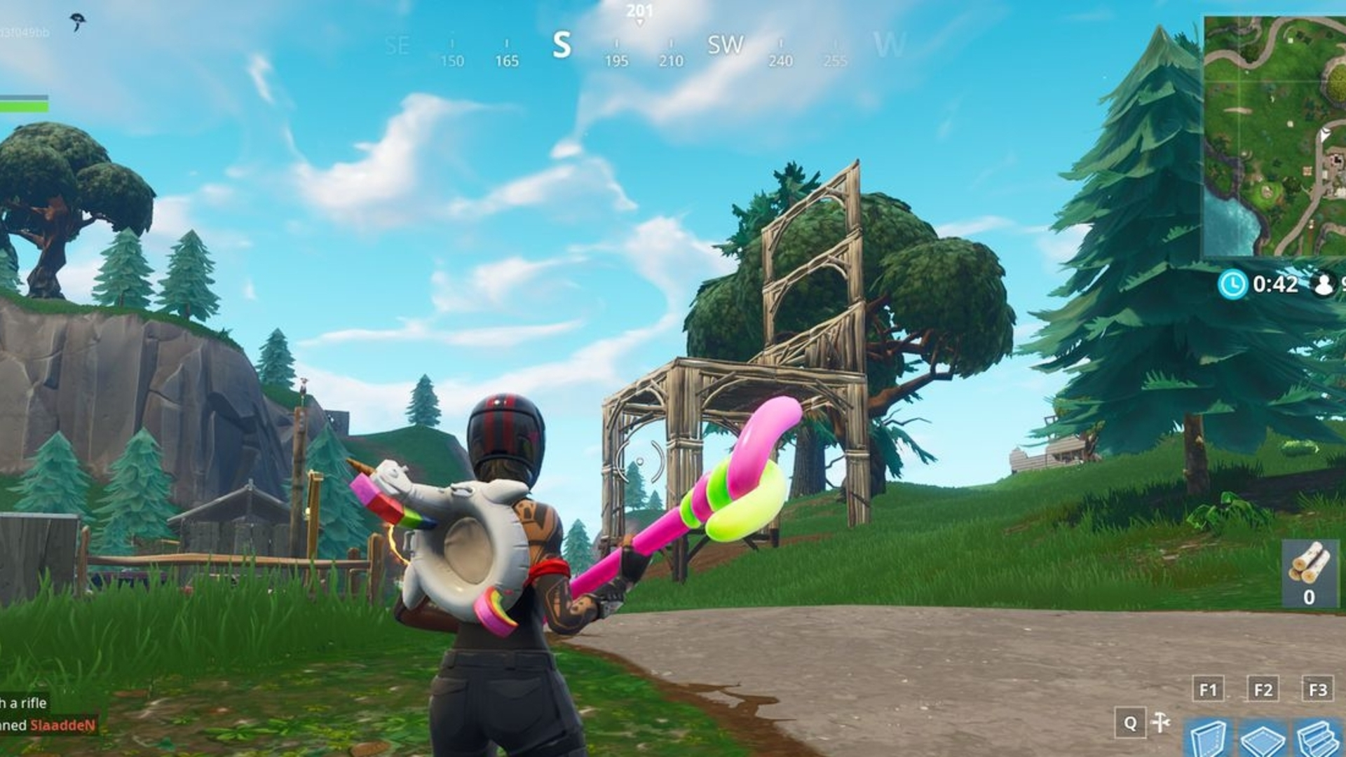 fortnite oversized seats location how to search between three