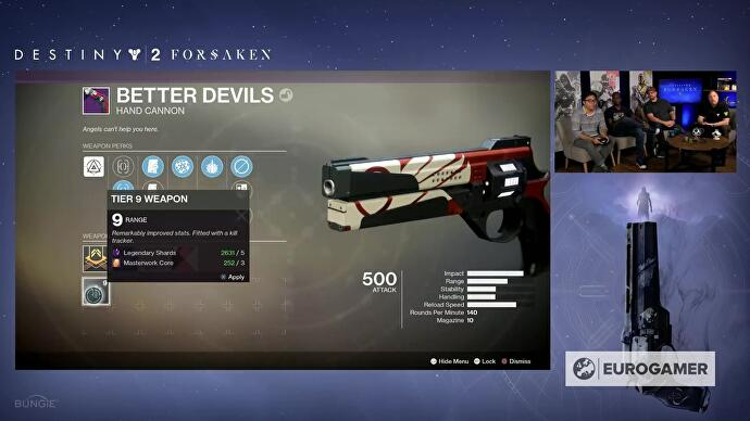 Destiny 2 Masterwork Core sources and Catalysts list • Eurogamer net