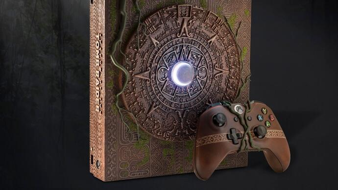 Exclusive Shadow of the Tomb Raider Xbox console being sold for charity