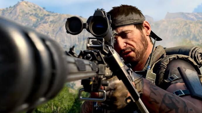 Call of Duty: Black Ops 4's battle royale Blackout mode gets its first gameplaytrailer