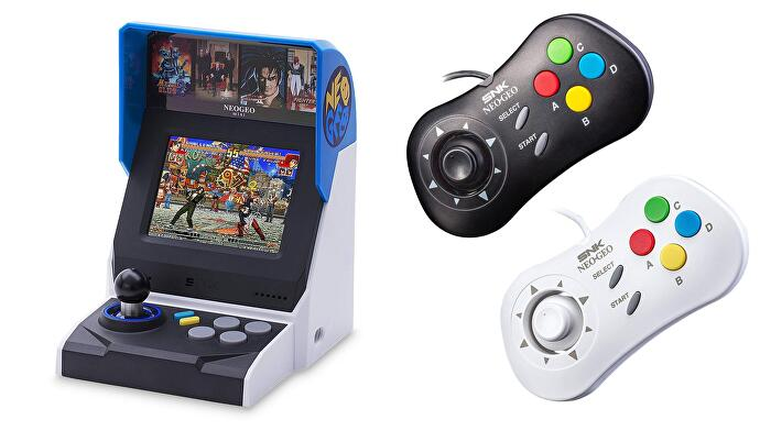 NEOGEO_with_controllers