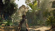 This daytime sequence also highlights the transmissive nature of foliage. Look at the palm tree above Lara to see this in action.