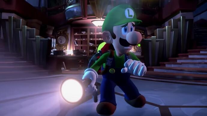 Luigi's Mansion 3 announced for Nintendo Switch