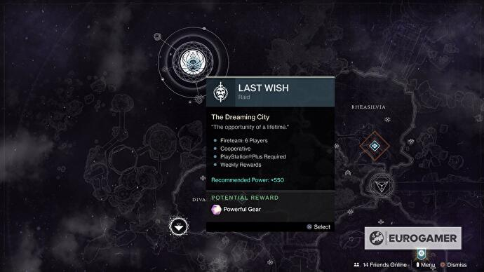 Destiny 2 Last Wish raid guide, loot and how to prepare