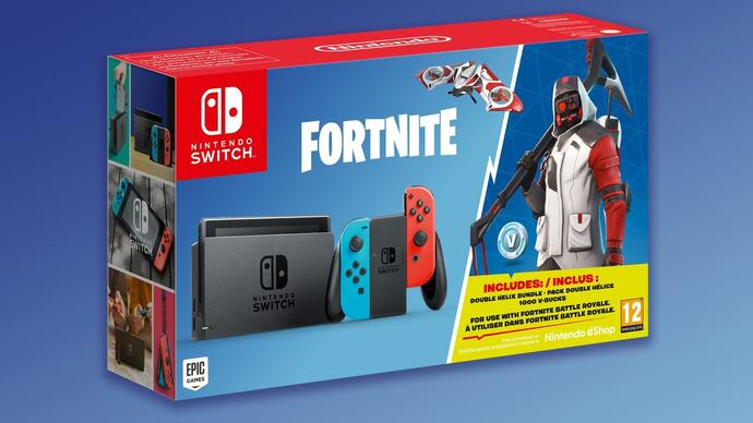 Fortnite Switch bundle announced, but it's pretty underwhelming