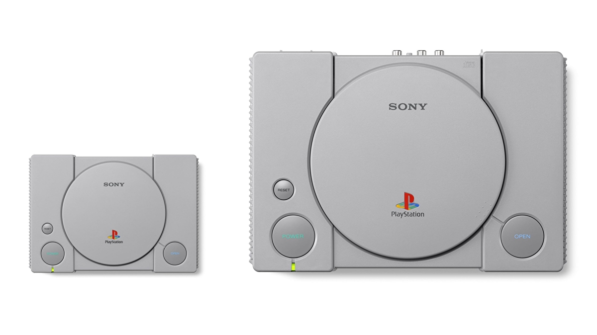 PlayStation Classic full games list, size difference, specs