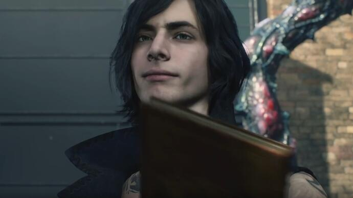 Devil May Cry 5 - Trailer da TGS 2018 revela V, a terceira personagem