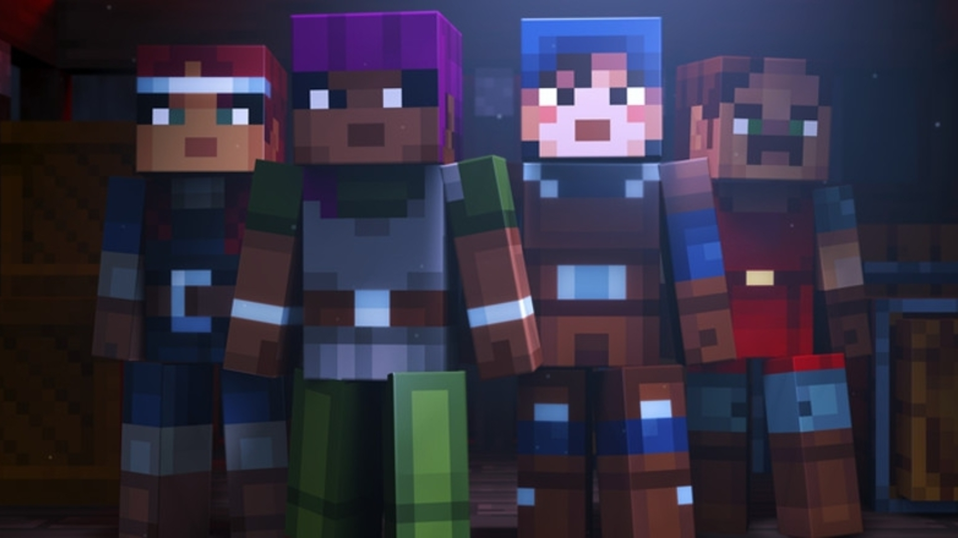 Mojang Unveils Minecraft Dungeons A New Dungeon Crawler Set In The 3 Way Switch Universe