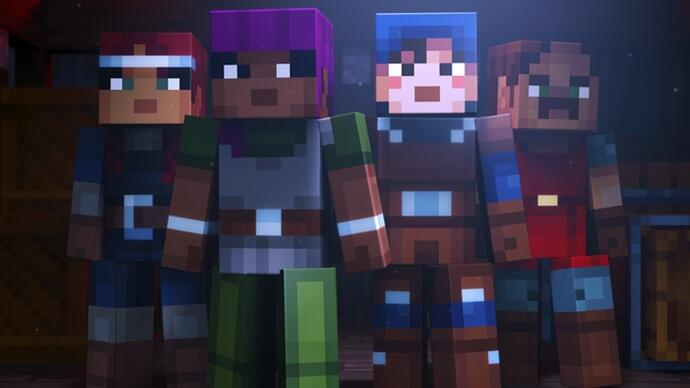 Mojang unveils Minecraft: Dungeons, a new dungeon crawler set in the Minecraft universe