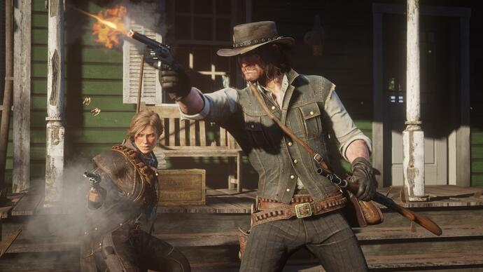 Red Dead Redemption 2 in azione nel nuovo video gameplay