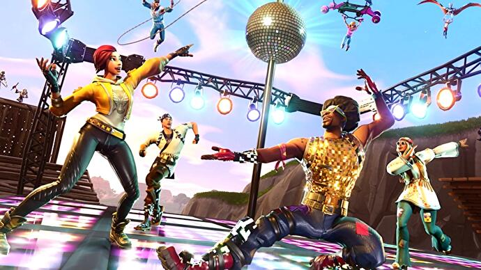 Fortnite S Latest Limited Time Mode Wants You To Dance Your Way To