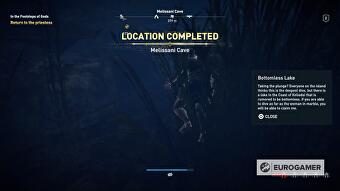 Assassin's Creed Odyssey - Bottomless Lake, Ashes to Ashes riddle