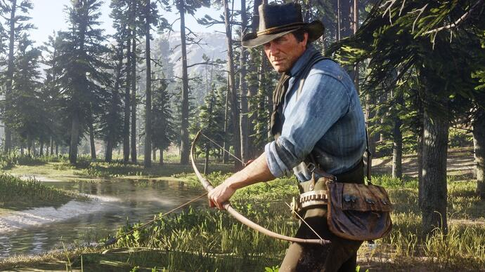 Nieuwe Red Dead Redemption 2 gameplay toont first-person modus