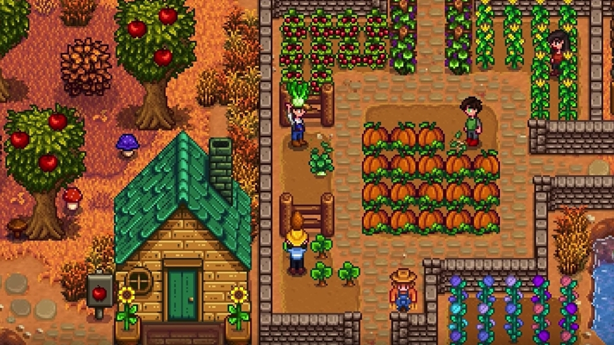 Stardew Valley's multiplayer update for Switch is