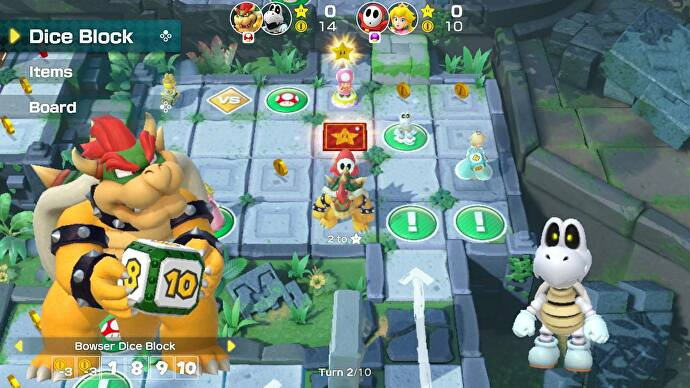 Super Mario Party Review Silly Slick And Spotty Return