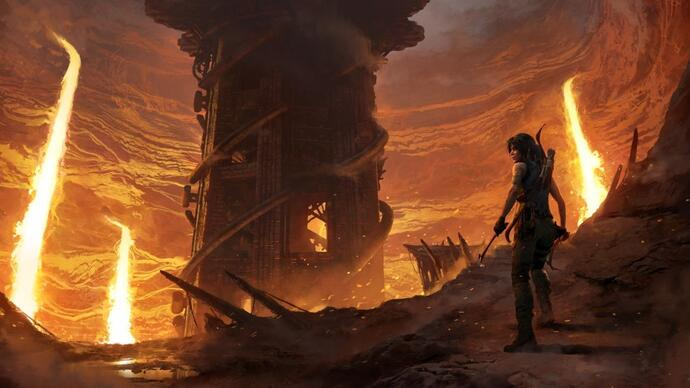Square dates and details The Forge, Shadow of the Tomb Raider's first DLC