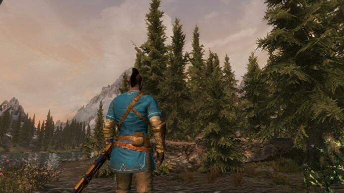 Skyrim fans have started a Switch modding scene to do what Bethesda
