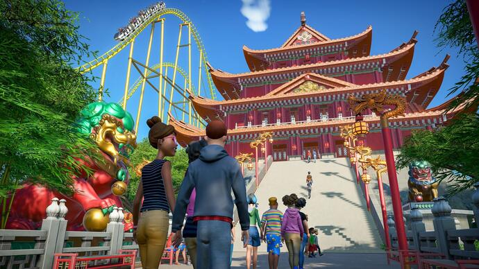 Planet Coaster gets some international flair in its upcoming World's Fair expansion