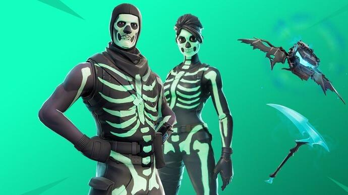 Fortnite update adds Quadlauncher, Disco Domination LTM and Skull Trooper skin styles