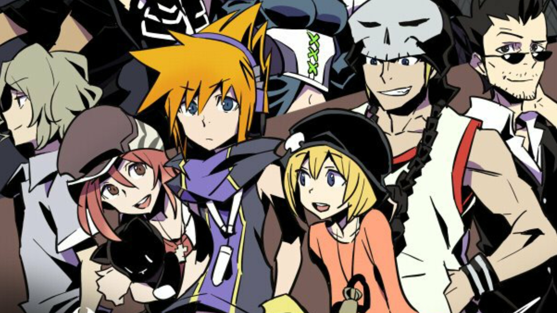 The World Ends With You Final Remix Review Quirky Classic Gets A Ps4 Kingdoms Heart 15 25 Region 3 Classy Makeover