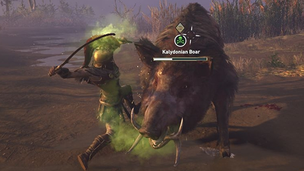 Assassin S Creed Odyssey Kalydonian Boar Strategy And Location
