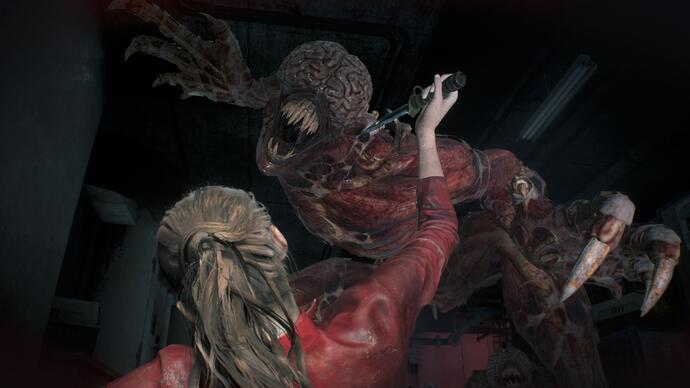I Licker sono i protagonisti del nuovo video gameplay di Resident Evil 2