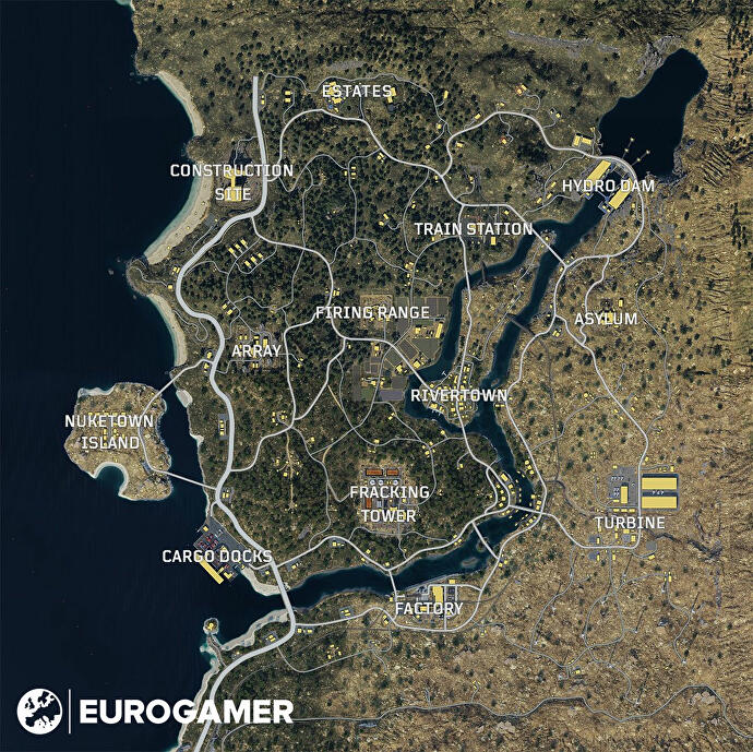 Black Ops 4 Blackout map, multiplayer maps list and Nuketown release