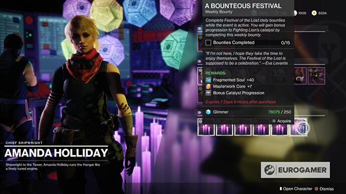 Destiny 2 Festival of the Lost masks, Fragmented Souls sources and