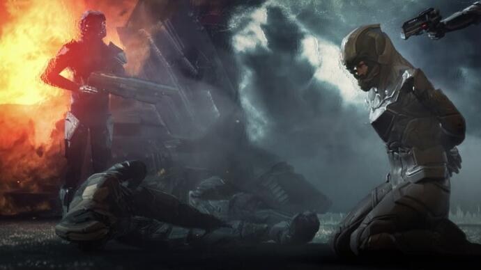 Here's gameplay of Project Nova, the Eve Online first-personshooter