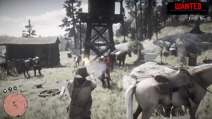 Four days before launch, Red Dead Redemption 2 suffers its first gameplay leak