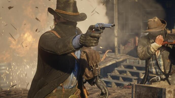 Red Dead Redemption 2 sofre leak de gameplay