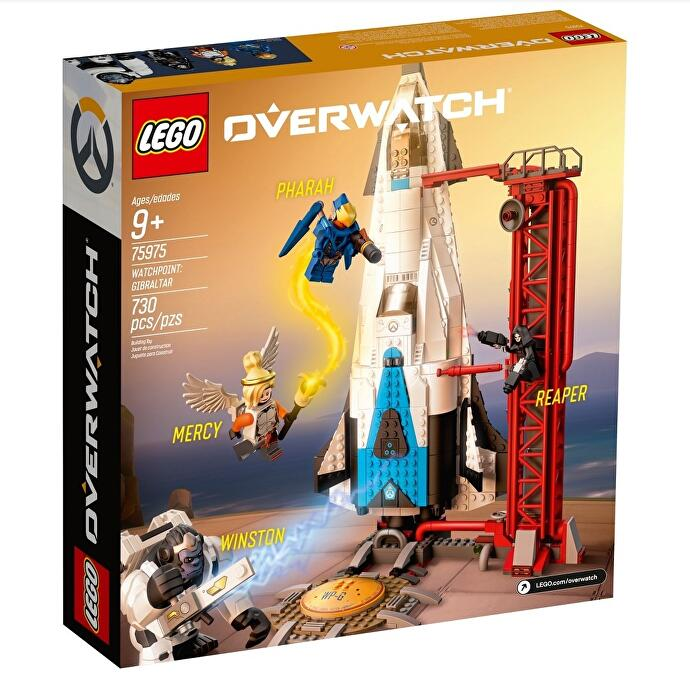 target leaks pictures of the upcoming overwatch lego sets