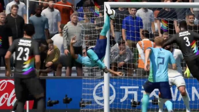 EA nerfs bicycle kicks in FIFA 19's first big gameplay patch