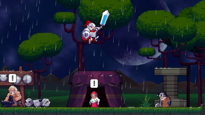Brilliant genealogical platformer Rogue Legacy launches on Switch next month