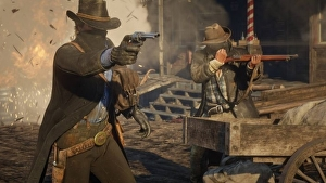 Red Dead Redemption 2 |  trafugato un nuovo video di gameplay che mostra per la prima volta