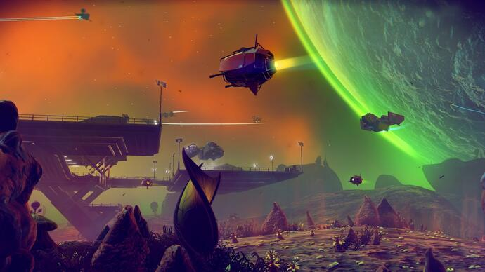 No Man's Sky is getting an 'eerie' free update next week called The Abyss