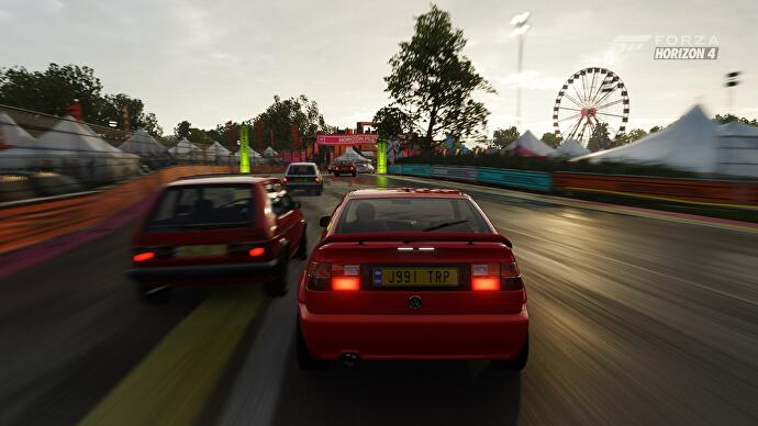 Forza Horizon 4's latest weekly challenge is a reminder of