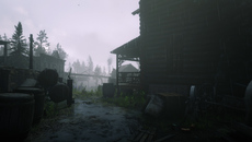 The dynamic weather system influences the mood of the game in a dramatic fashion. Dirt turns to mud, materials take on a realistic sheen and droplets fill the screen.