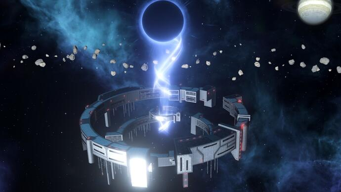 Sci-fi grand strategy Stellaris' next expansion MegaCorp is all about the big bucks