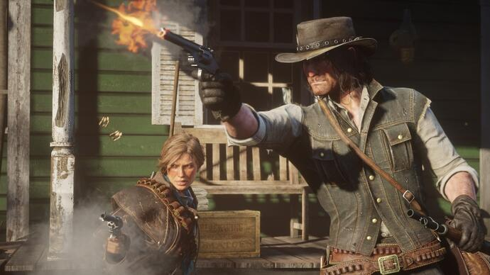 Red Dead Redemption 2 si gioca al meglio su Xbox One X - analisi comparativa