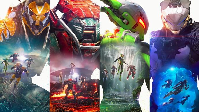 Anthem - nowy gameplay z gry BioWare