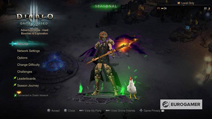 Diablo 3 Zelda outfits on Switch explained: How to unlock