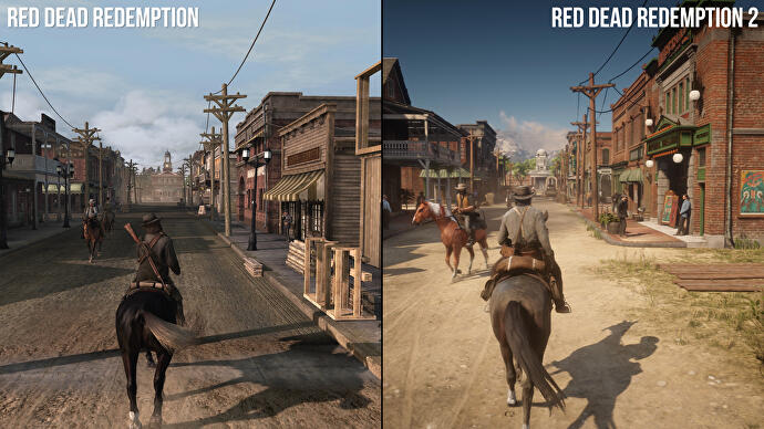 Blackwater and beyond: Red Dead Redemption 1/2 directly