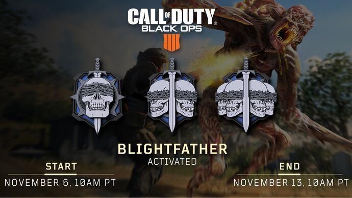 Call of Duty: Black Ops 4 update removes 9-Bang from Blackout, adds Blightfatherevent
